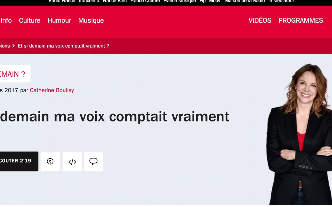 France Inter : et si demain ma voix comptait vraiment ?