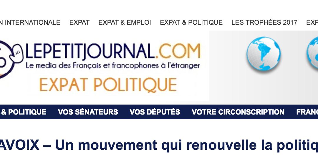 #MAVOIX – Un mouvement qui renouvelle la politique ?
